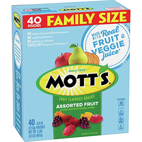 Amazon - Mott's Fruit Snacks Medleys 40-Pack $3.99