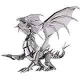 piececool Dragon Metal - Puzzle 3D DIY Dragon Metal modelo de metal para adultos, 115 piezas