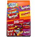 STARBURST, SKITTLES & LIFE SAVERS Gummies Halloween Candy Fun Size (315 Count) Variety Mix from AmazonUs/MARUO