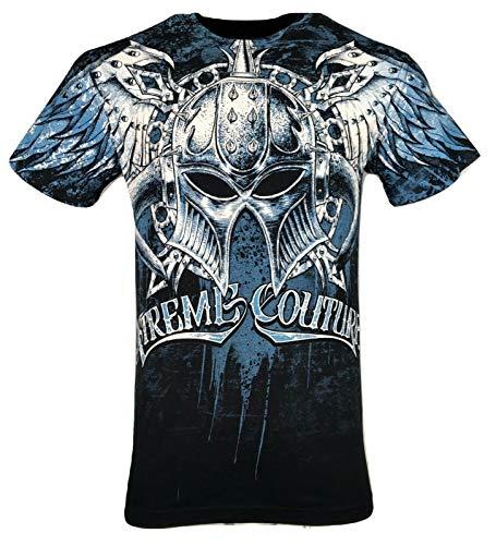 Xtreme Couture by Affliction Men T-Shirt Dealer Biker Black MMA Gym S-4X $40 (2XL)