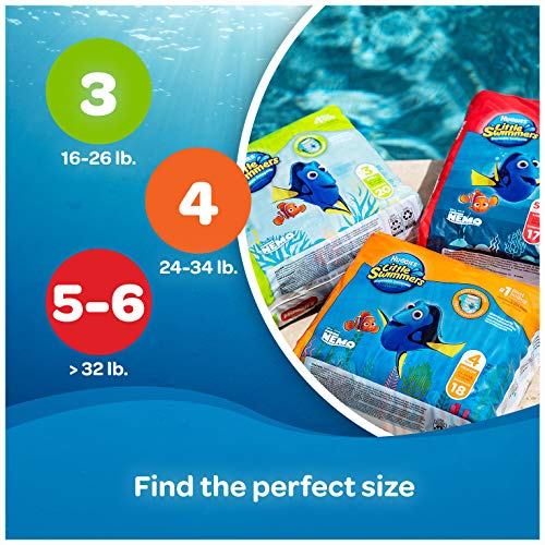 Huggies Little Swimmers, Disposable Swimpants, Small, 20 Count