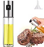 Olive Oil Sprayer for Cooking, Oil Spray Bottle Versatile Glass for Cooking, Baking, Roasting,...