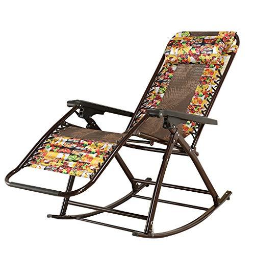 Silla reclinable de jardín Tumbona de Playa Chaise Sillones Plegables Textoline Resistente a la Intemperie para la Piscina del Patio del Patio de césped con reposacabezas Desmontable