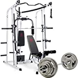 Marcy MD 5191 Smith Machine Home Gym with 100Kg Weight set