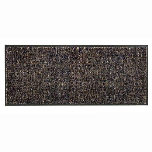 Schöner Wohnen Fussmatte Miami Gitter anthrazit-Taupe 044 | 67x150 cm