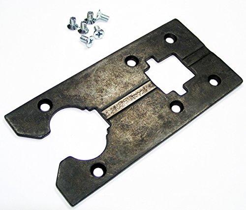 Bosch 1587AVS Jig Saw Replacement Metal Base Plate # 2607001085