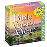 365 Bible Verses-A-Year Page-A-Day Calendar 2020