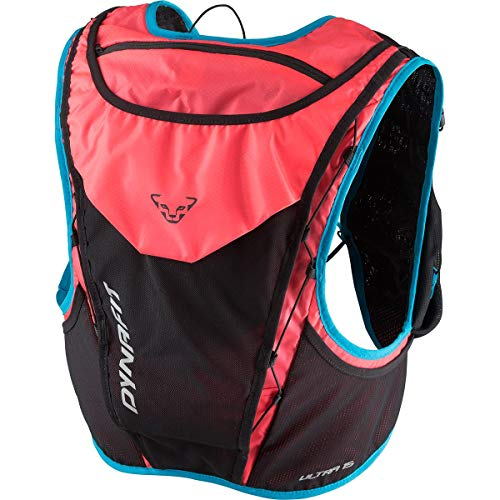 DYNAFIT Ultra 15 Pink-Schwarz, Rucksack, Größe M/L - Farbe Fluo Pink - Methyl Blue
