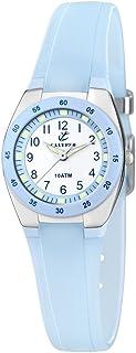 Calypso Watches - K6043/D - Montre Fille - Quartz Analogique - Bracelet Caoutchouc Bleu