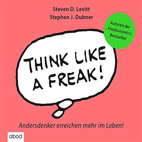 Think like a Freak audiobook cover art