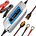 Car Battery Charger 12v 4Amp Fully Automatic Maintainer for Cars Boat Motorcycles ATVs RVs and More