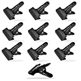 YICOE Backdrop Spring Clamps 10 Pack, 4-1/4 inch Metal Heavy Duty Clips for Photo Video Studio, Backdrops, Muslin Nylon Background, Canvas, Paper, Chromakey Screen, Woodworking