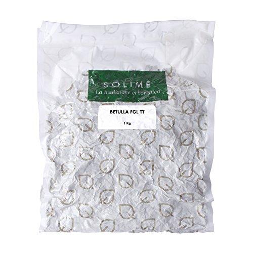Betulla Foglie Taglio Tisana - 1 kg - Prodotto made in Italy