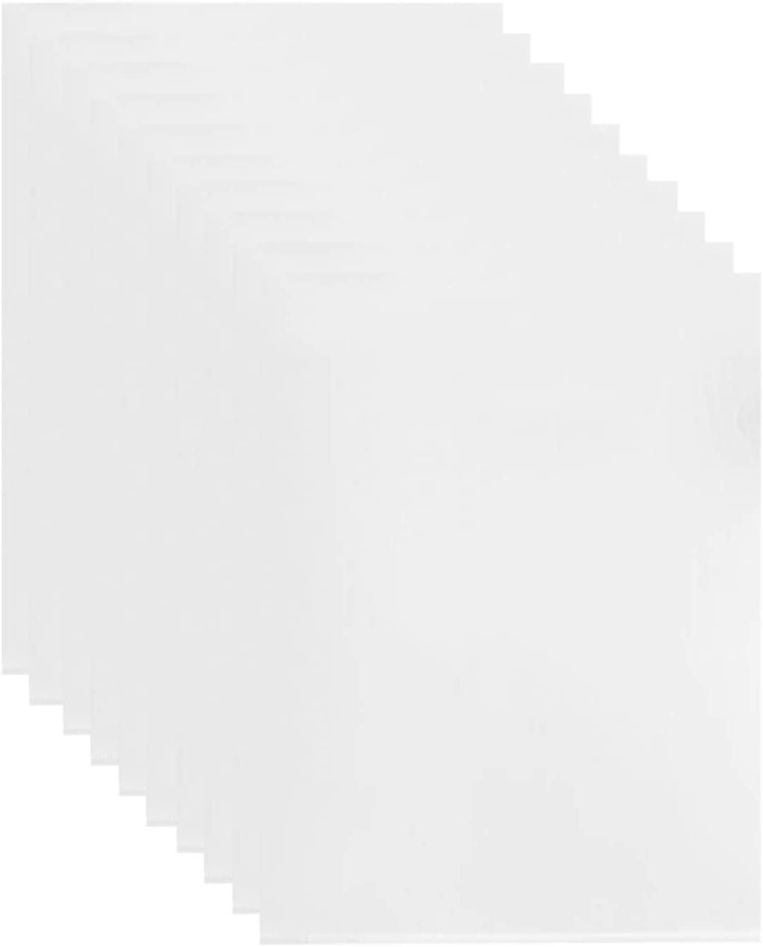 Goaup Clear Plastic File Folders A4 Max Our shop most popular 44% OFF for Size Pockets H Project
