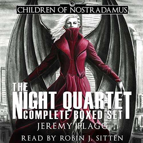 The Night Quartet Boxed Set: A Dystopian Superhero Story cover art