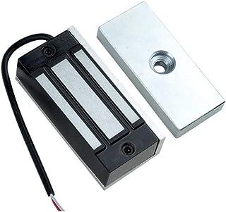 AMAO Vattentätt elektriskt magnetlås 12 kg 130 lbs hållkraft en dörr elektromagnetiskt lås DC 12 V NC för dörråtkomstkontr...