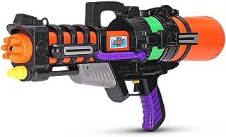 jkbfyt Water Blasters,918 Summer Pulling Type Super Soaker High Pressure Water Gun Light Weight Beach Play Water Battle Children Interactive Toy Gun with Pump 600ML