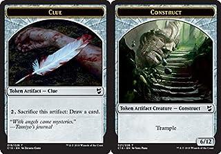 Magic: The Gathering - Clue Token // Construct Token (021) - Commander 2018