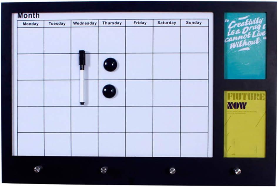 LIANGJUN Message Board Chalkboards Whiteboard Calendar Grid Home