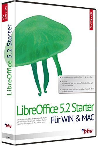 Libre Office 5.2. Für Windows 10, 8.1/8/7/Vista/XP (SP2) und Mac OS X 10.8 (Mountain Lion) oder höher (64-Bit)