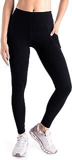 """Yogipace,Side Pocket,Women's 25""""/31""""/34""""/36"""" Yoga Workout Leggings Active Pants"""