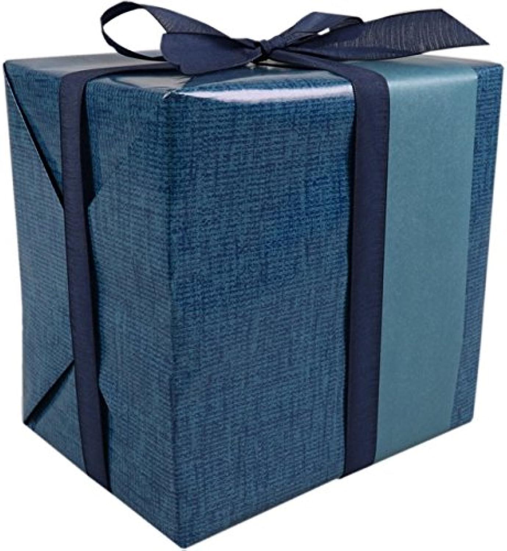 LOVLY® Cadeaupapier, 50cm, 200m, 80gr m², m², m², Denim drift, blauw B07BNL6GR1 | Verschiedene Arten Und Die Styles  cd7913