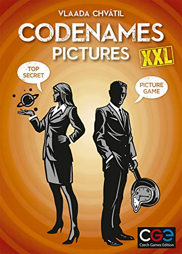Edición de juegos checos CGE00050 nombres de código imágenes XXL, colores variados , color/modelo surtido