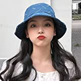 MGE Exterior Elegante Sombrero de señora Sun Retro del Vaquero del Sombrero del Pescador del Estudia...