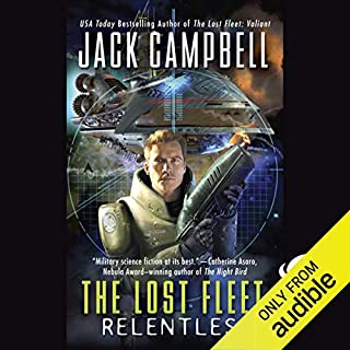 Page de couverture de The Lost Fleet: Relentless