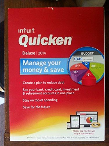 Price comparison product image Quicken 421197 Deluxe 2014 (PC)