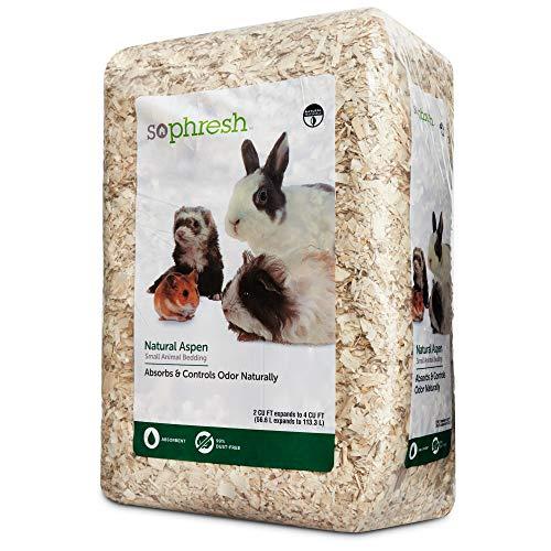Petco Brand - So Phresh Natural Aspen Small Animal Bedding, 56.6 Liters (3456 cu. in.)