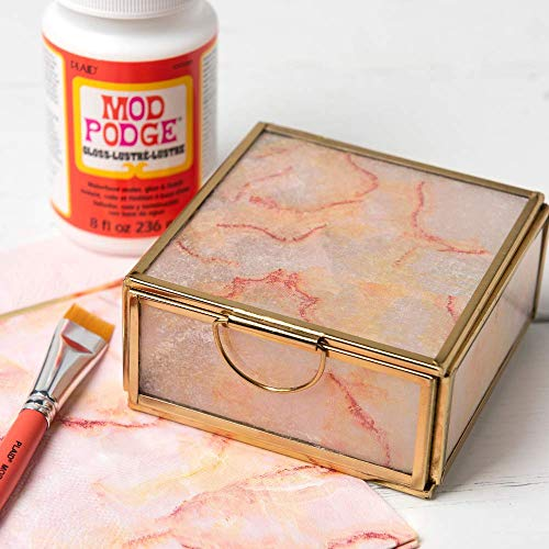 Mod Podge 8 oz Waterbase Sealer, Glue and Finish, Gloss