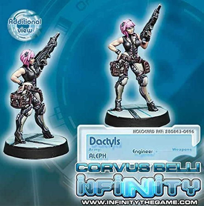 Aleph Dactyls Steel Phalanx Support Engineer Miniature Corvus Belli by Corvus Belli