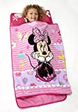 Disney Minnie Mouse Toddler Rolled Nap Mat, Sweet as Minnie, Minnie Mouse -...