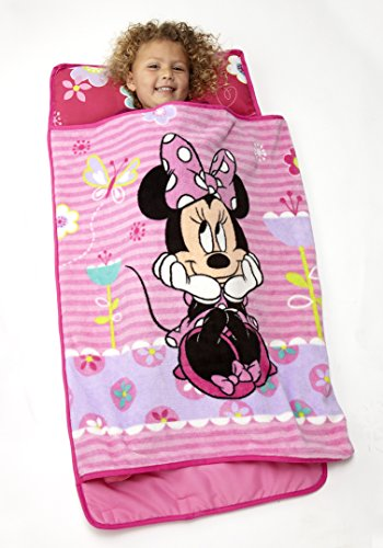 Product Image of the Disney Minnie Mouse Toddler Rolled Nap Mat, Sweet as Minnie, Minnie Mouse -...