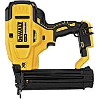 DeWalt DCN680B 20V Max 18 Gauge Cordless Brad Nailer (Tool Only) + Dewalt DCB205 20V MAX Lithium-Ion XR 5.0Ah Battery