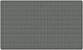 Ghent 12x48 Fabric Tackboard w/ Wrapped Edge - Gray - Made in the USA by Ghent