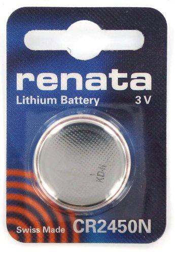 RENATA cR2450N avec pile lithium 3.0 v/mAh