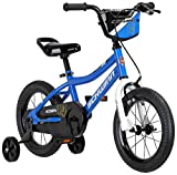 Schwinn Koen Boys Bike for Toddlers and Kids, 14-Inch Wheels, Black