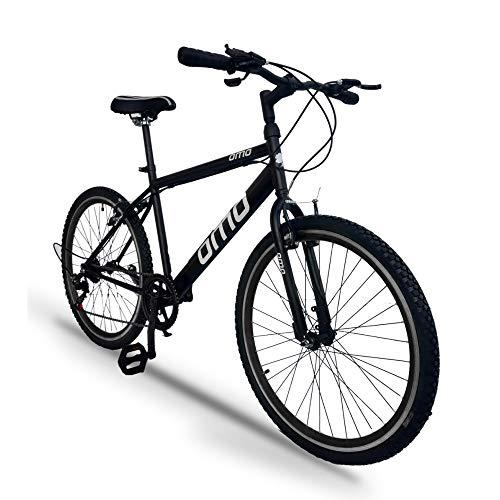 Omobikes Model 1.7 | 26T - 7 Speed Gear | Hybrid Bike (Black)