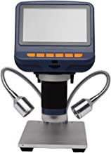 1080P Digital USB Microscope, 4.3-Inch Electronic Microscope Special Lifting Bracket with Fill Light for Repairing Mobile ...