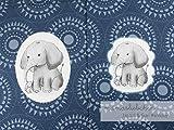 Mamasliebchen Jersey-Stoff jaspal & Suri #Smoky (1 Panel,