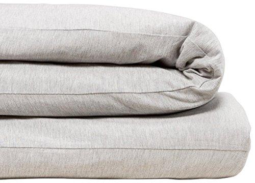 Calvin Klein Home Modern Cotton Body Duvet Cover, Queen, Grey