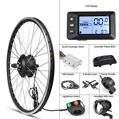 Electric bike Conversion Kit for 350 WE Front Wheel
