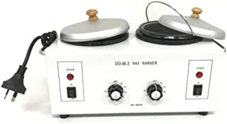 Double Electric Wax Heater Paraffin Warmer 500ml Each Pot