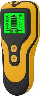mewmewcat Detector de parede com sensor de localizador de parafusos 3 em 1 Detector de metal/tensão/parafuso prisioneiro c...