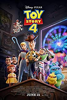 TOY STORY 4 (2019) Original Authentic Movie Poster 27x40 - Double-Sided - Tom Hanks - Tim Allen - Joan Cusack - Tony Hale