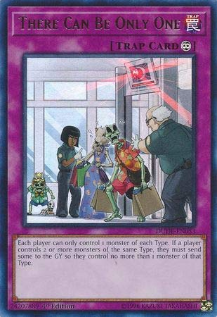 Yu-Gi-Oh! - There Can Be Only One - DUDE-EN053 - Ultra Rare - 1er Edition - Duel Devastator