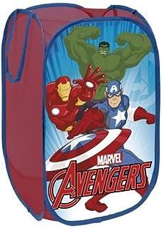 Panier À Linge - Coffre À Jouets Rangement Avengers