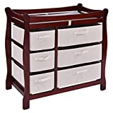 Best Changing Tables - Costzon Baby Changing Table, Infant Diaper Changing Table Review